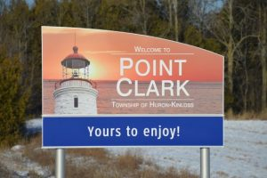 Point Clark sign - Yours to enjoy!