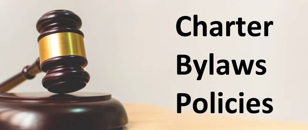 Charter Bylaws Policies