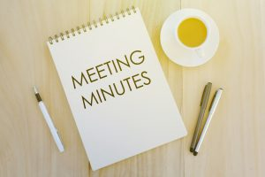 PCBA Meeting Minutes page link