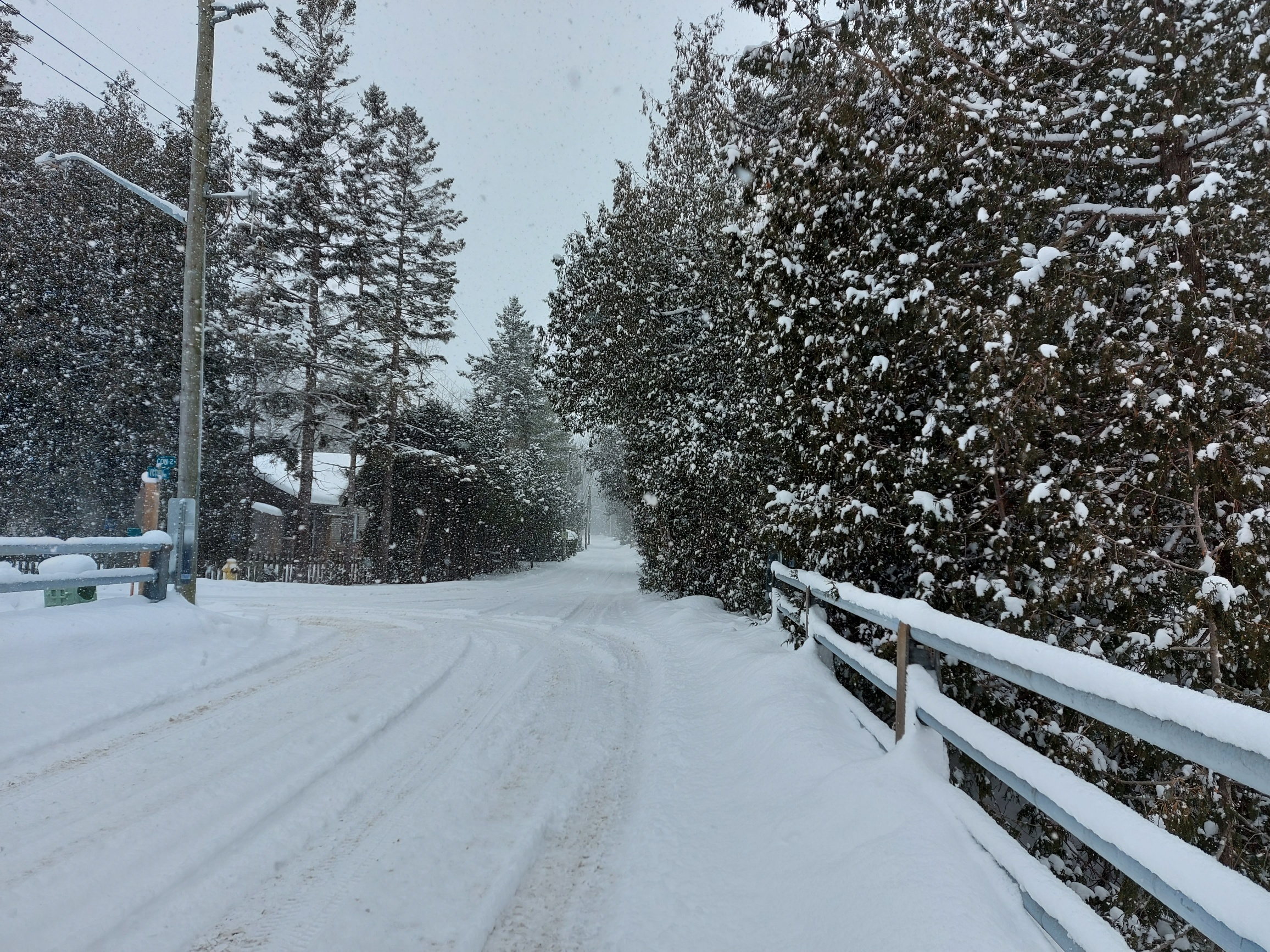 Photo of Victoria Road winter scene / winter of 2021